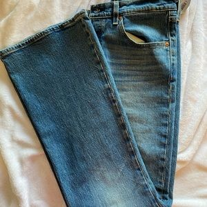 Levi's rib cage flare jeans